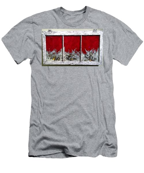 Red And White Widow # 2 Men's T-Shirt (Athletic Fit)