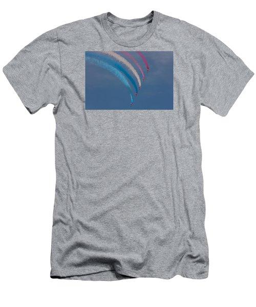 Red Arrows Loop Men's T-Shirt (Athletic Fit)