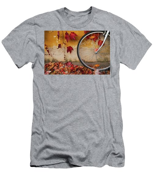 Men's T-Shirt (Slim Fit) featuring the photograph Red Autumn by Yuri Santin