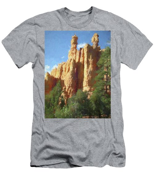 Red Canyon Twins Men's T-Shirt (Athletic Fit)