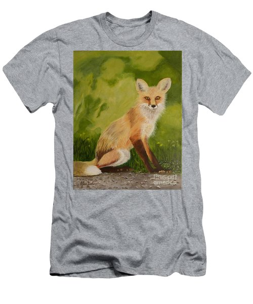 Red Fox 1 Men's T-Shirt (Athletic Fit)
