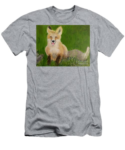 Red Fox 2 Men's T-Shirt (Athletic Fit)