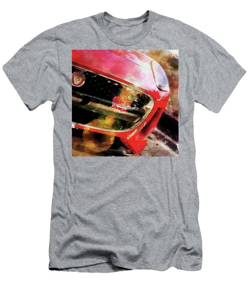 Red Jag Men's T-Shirt (Slim Fit) by Robert Smith