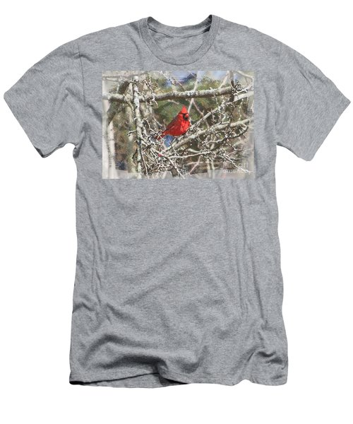 Men's T-Shirt (Slim Fit) featuring the photograph Red Neck by Robert Pearson