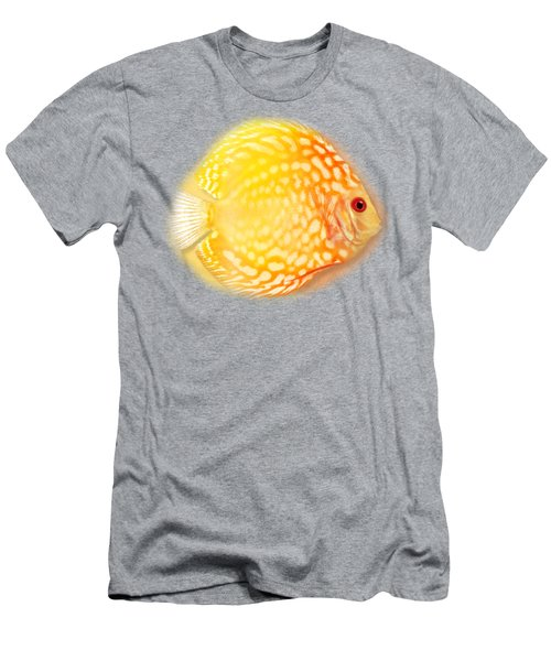 Red Pigeon Blood Discus No 01 Men's T-Shirt (Athletic Fit)