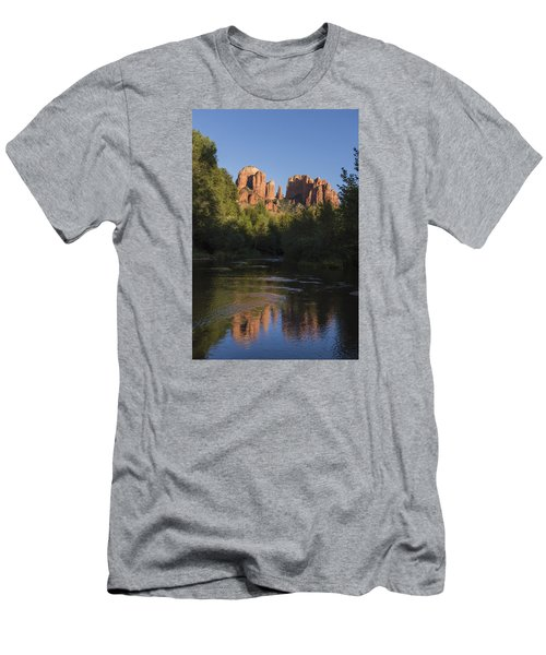 Red Rock Reflections Men's T-Shirt (Athletic Fit)