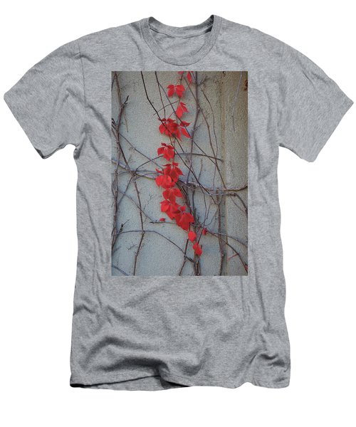 Men's T-Shirt (Athletic Fit) featuring the photograph Red Vines by David Chandler