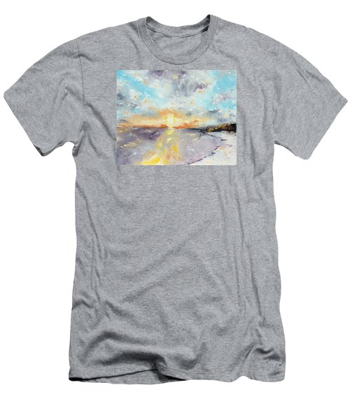 Redeemed Men's T-Shirt (Slim Fit) by Meaghan Troup