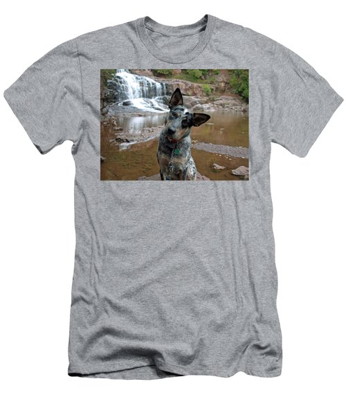 Men's T-Shirt (Athletic Fit) featuring the photograph Reflecting by James Peterson