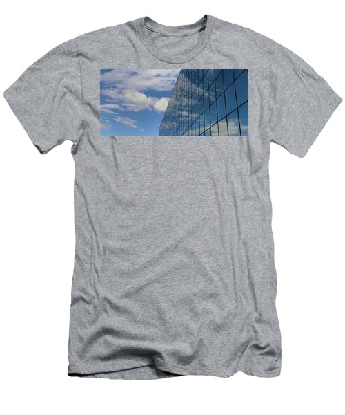 Reflecting On Today Men's T-Shirt (Slim Fit) by Jeremy Tamsen