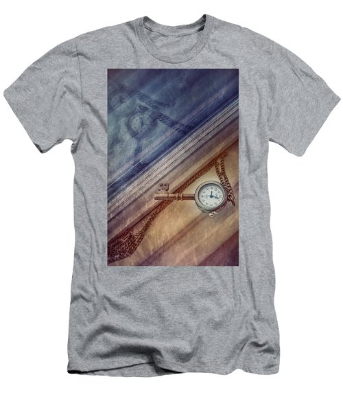 Reflection Of Time Men's T-Shirt (Athletic Fit)