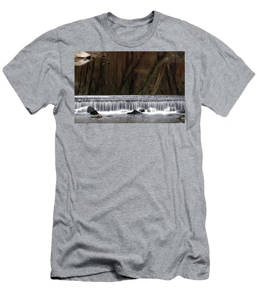 Reflections And Water Fall Men's T-Shirt (Athletic Fit)