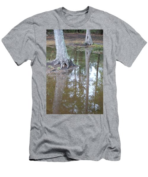 Reflections Men's T-Shirt (Slim Fit) by Gordon Mooneyhan