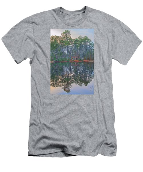 Reflections In The Pines Men's T-Shirt (Athletic Fit)