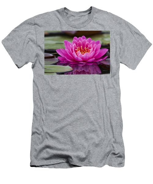 Reflections Of A Waterlily Men's T-Shirt (Athletic Fit)