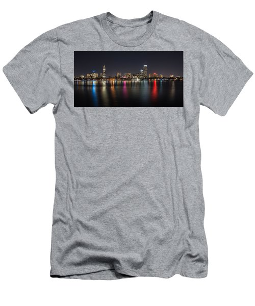 Reflections Of Boston Men's T-Shirt (Athletic Fit)