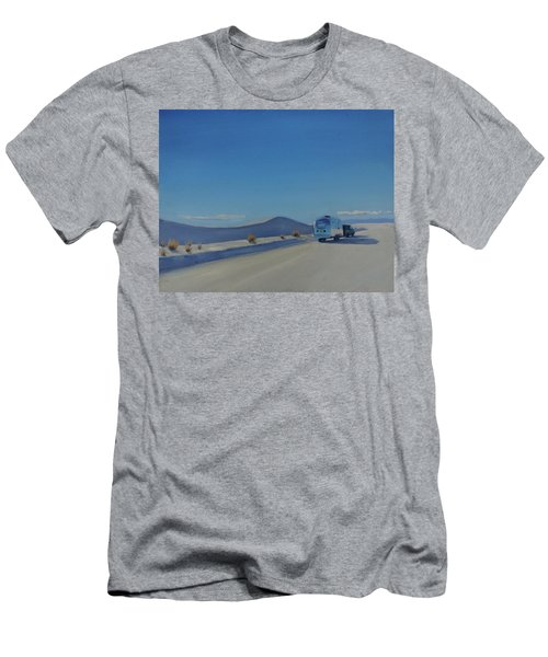 Reflections Of White Sands Men's T-Shirt (Athletic Fit)