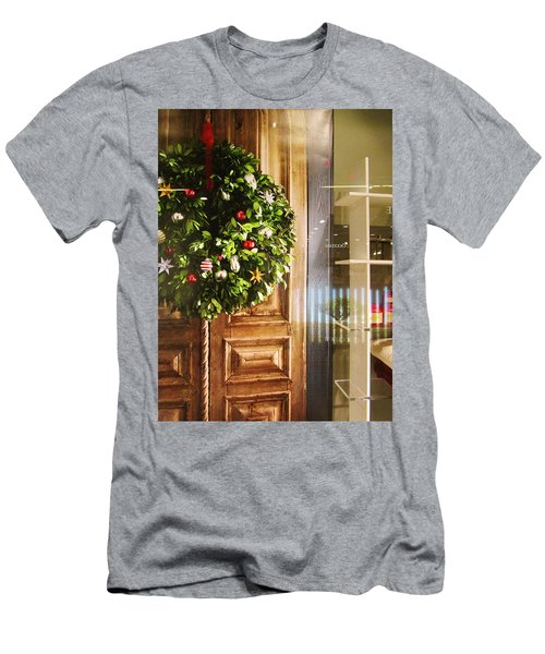 Reflections On Christmas Men's T-Shirt (Athletic Fit)