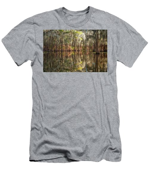Reflections On The Bayou Men's T-Shirt (Athletic Fit)