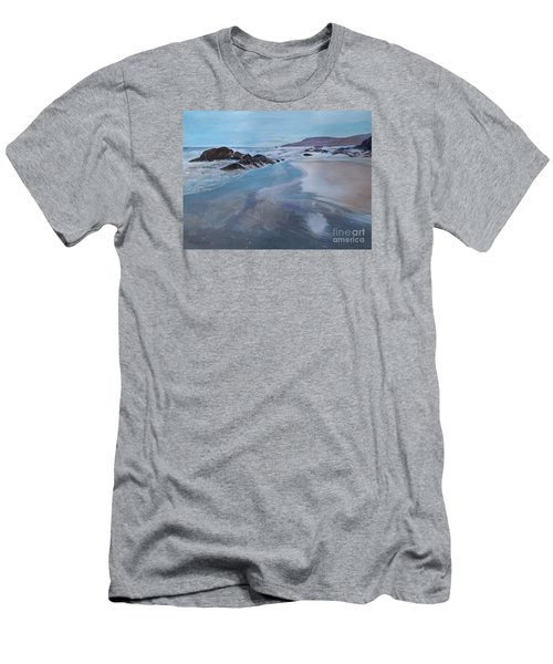 Reflections - Painting Men's T-Shirt (Slim Fit) by Veronica Rickard