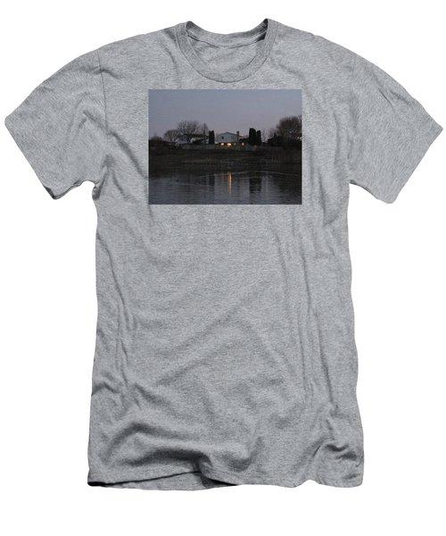 Reflective Pond Men's T-Shirt (Athletic Fit)