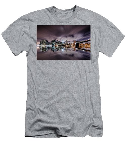 Reflector Adherence  Men's T-Shirt (Athletic Fit)