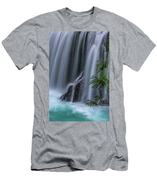 Refreshing Waterfall Men's T-Shirt (Athletic Fit)
