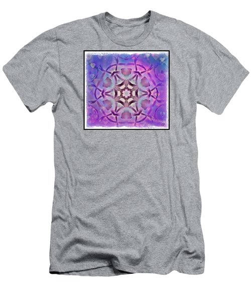 Reiki Infused Healing Hands Mandala Men's T-Shirt (Athletic Fit)