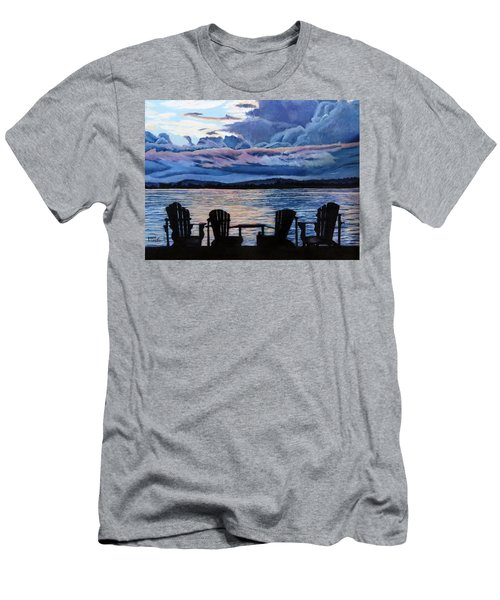 Relax Men's T-Shirt (Slim Fit) by Marilyn McNish