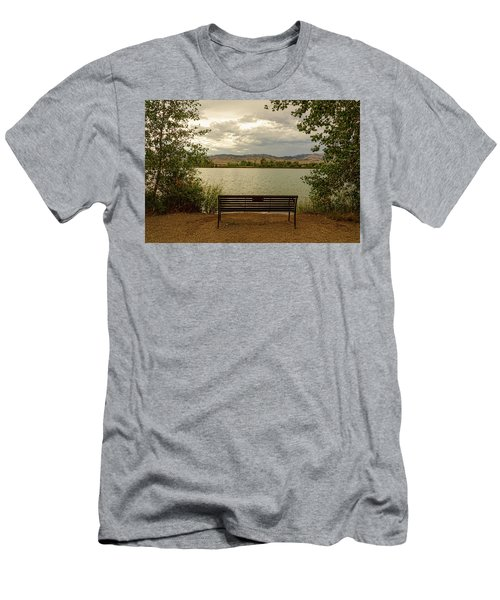 Men's T-Shirt (Athletic Fit) featuring the photograph Relaxing View by James BO Insogna
