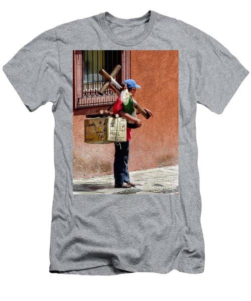 Religious Art Salesman Men's T-Shirt (Athletic Fit)
