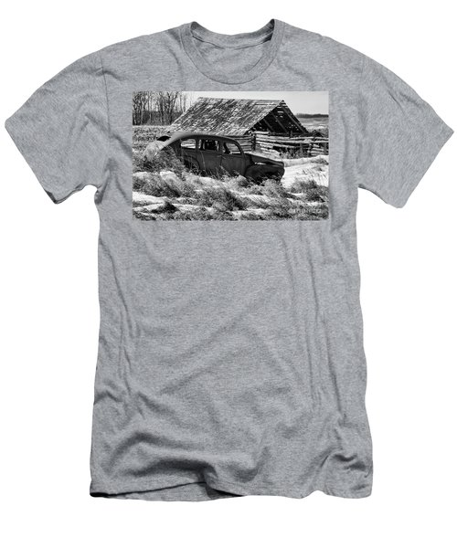 Men's T-Shirt (Slim Fit) featuring the photograph Remember The Past Work For The Future by Bob Christopher