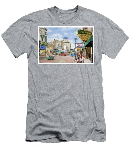 Remembering Duval St. Men's T-Shirt (Slim Fit) by Bob George