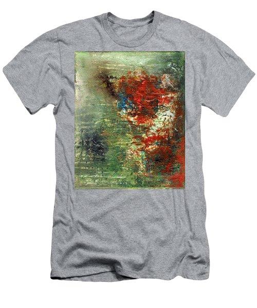 Remembering J. T.  Acrylic Original #5 Men's T-Shirt (Athletic Fit)