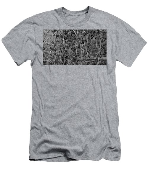 Men's T-Shirt (Athletic Fit) featuring the photograph Reminder Of Winter  by August Timmermans