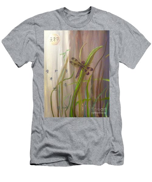 Restoration Of The Balance In Nature Cropped Men's T-Shirt (Athletic Fit)