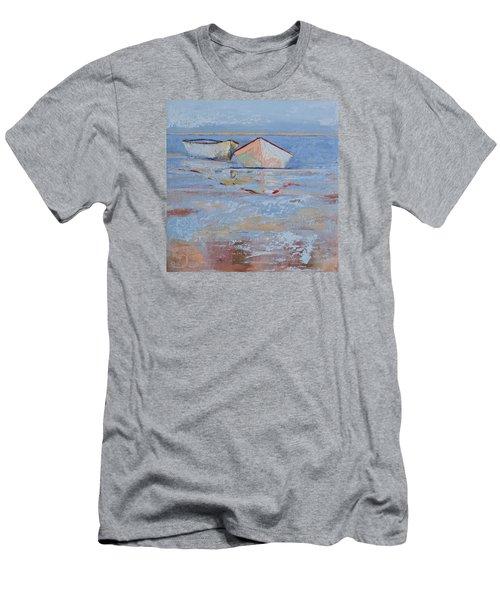Returning Tides Men's T-Shirt (Slim Fit) by Trina Teele