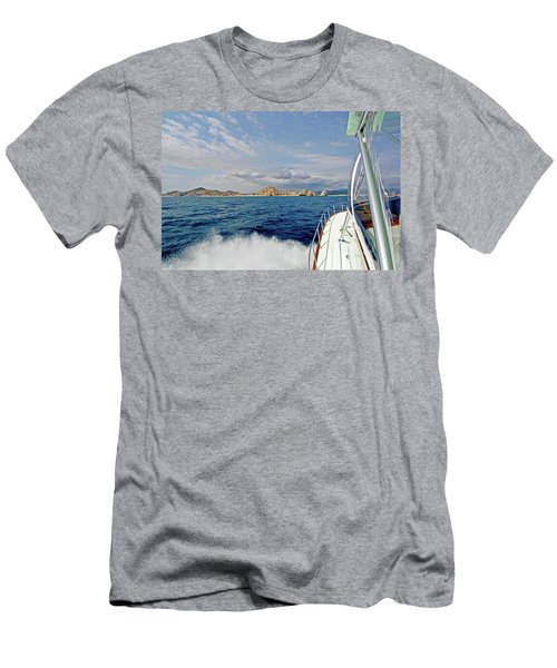 Returning To Port Men's T-Shirt (Athletic Fit)