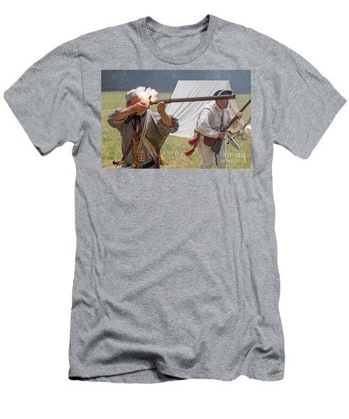 Revolutionary War Reenactment Men's T-Shirt (Athletic Fit)
