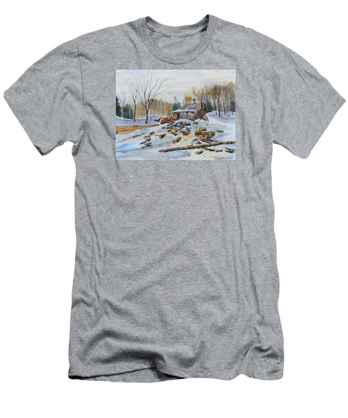 Reynold's Sugar Shack Men's T-Shirt (Athletic Fit)