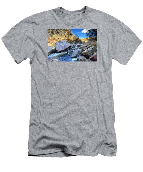 Rhandirmwyn 1 Men's T-Shirt (Athletic Fit)