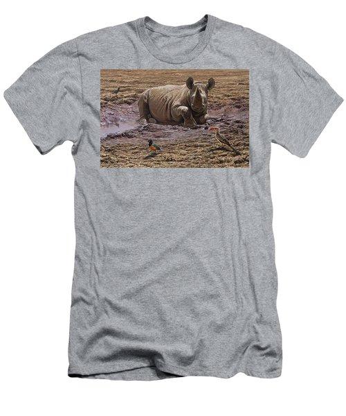 Rhino Men's T-Shirt (Athletic Fit)