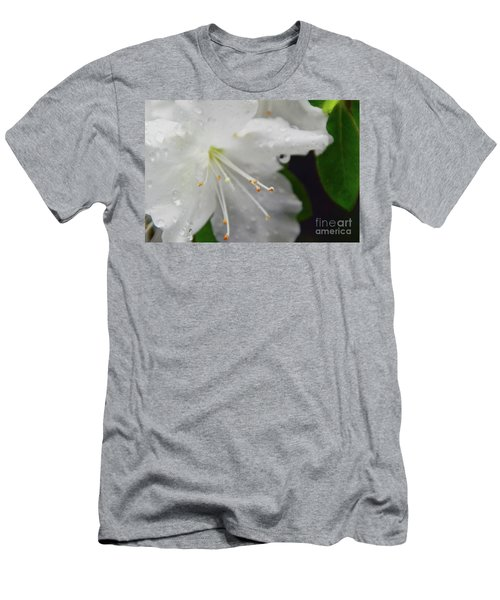 Rhododendron Blossom Men's T-Shirt (Athletic Fit)