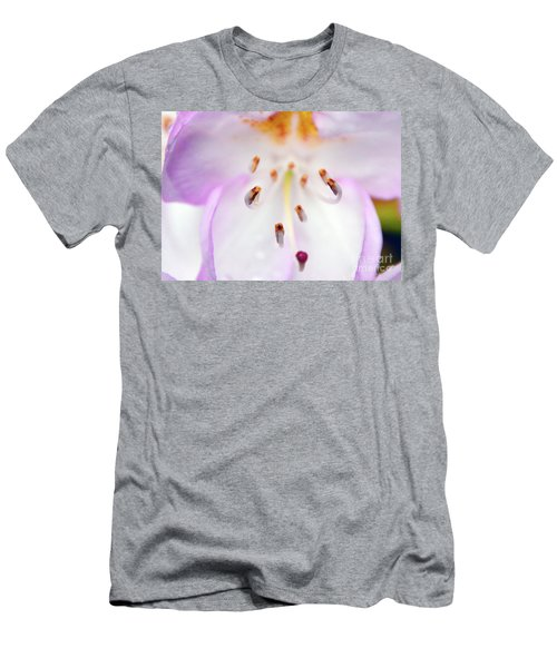 Rhododendron Blossom Too Men's T-Shirt (Athletic Fit)