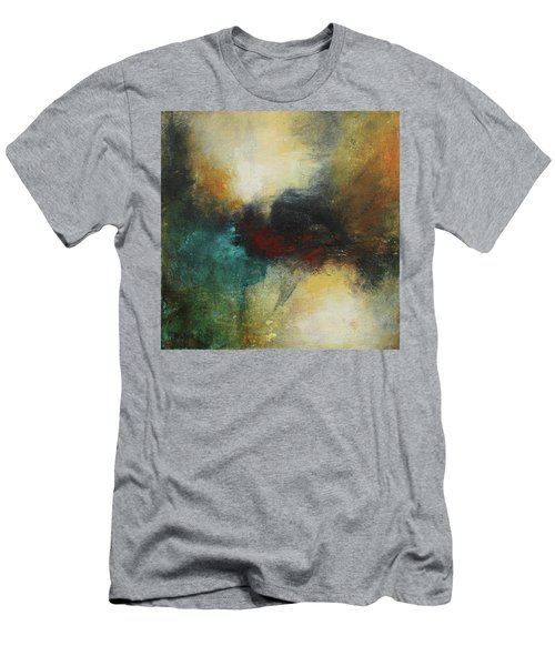 Rich Tones Abstract Painting Men's T-Shirt (Athletic Fit)