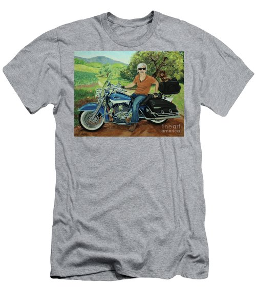 Ride In The Birksire's Men's T-Shirt (Athletic Fit)