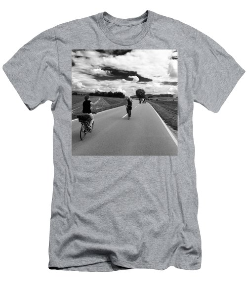 Ride My Bicycle Men's T-Shirt (Athletic Fit)