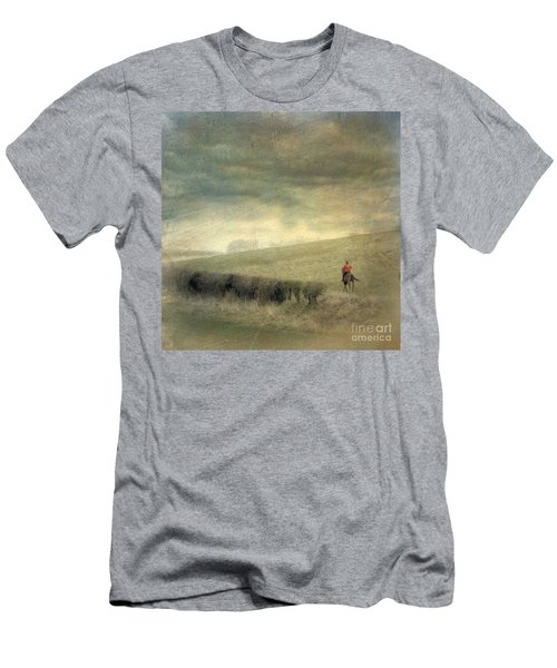 Rider In The Storm Men's T-Shirt (Athletic Fit)