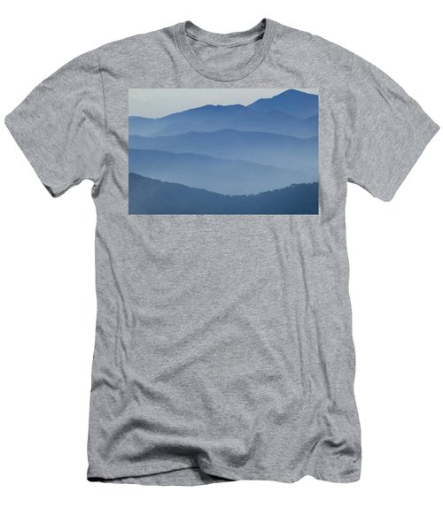 Ridgelines Great Smoky Mountains Men's T-Shirt (Athletic Fit)