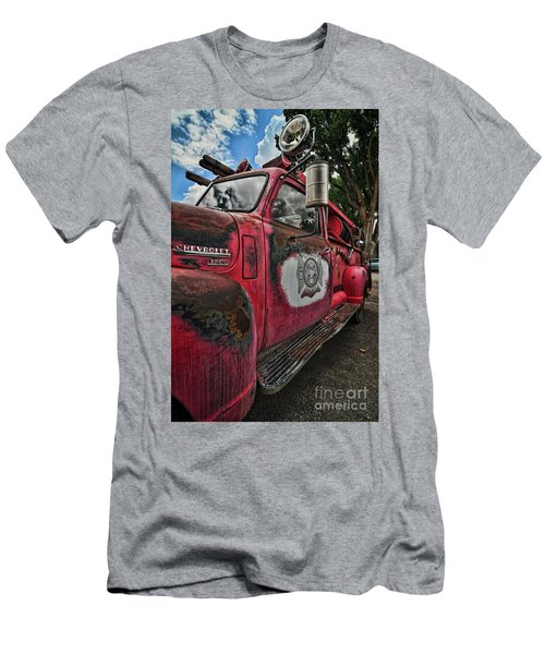 Ridgway Fire Truck Men's T-Shirt (Athletic Fit)